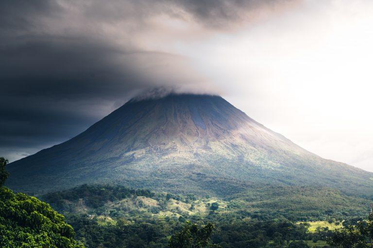 a mountain in costa rica